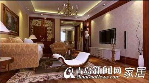 古香古色的中式风格装修加上欧式家具的点缀 混搭风悄然兴起