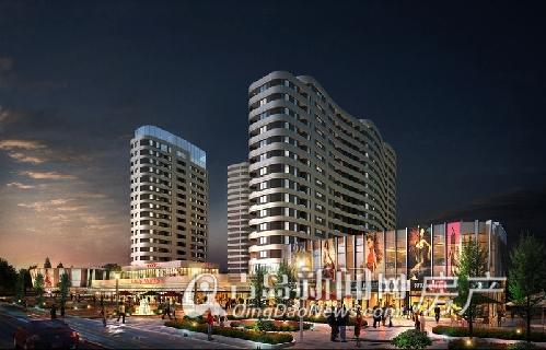 时代城沿街商业效果图-青岛时代城建5000㎡健身会馆 预计8月低价开盘高清图片