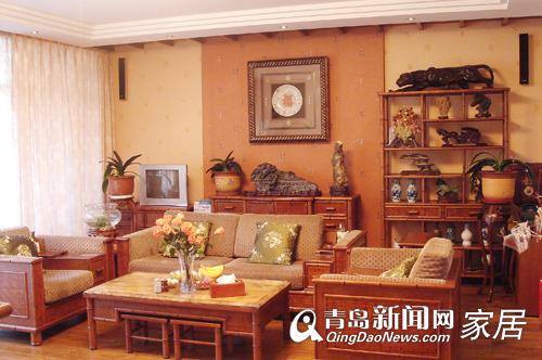 青岛一木沙发中式