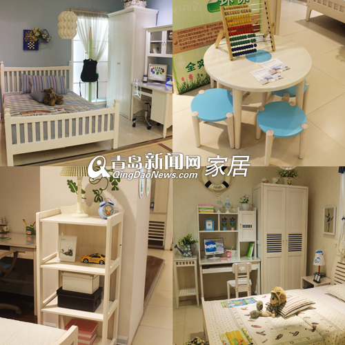 青岛4款圆角环保儿童书桌 新国标在手家有儿女首选(图