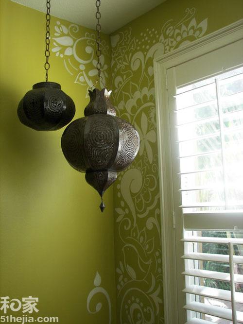背景墙设计,手绘墙面,墙面装饰,青岛装修