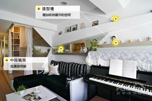 3招搞定沙发背景墙 小户型必备良方(图)图片