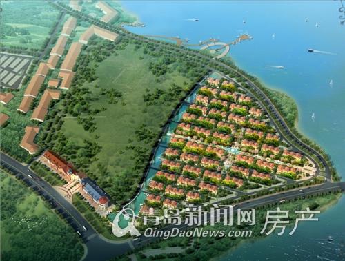 中信森林湖区位图 青岛新闻网提供