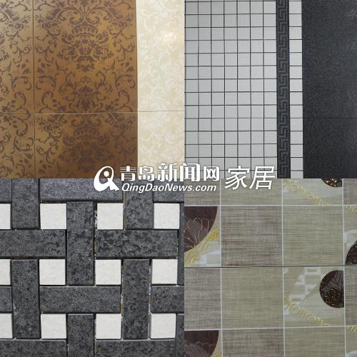 高端素雅花纹瓷砖