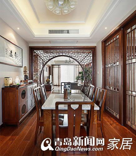 中式风格,青岛中式风格装修案例,青岛装修,江南风格装修