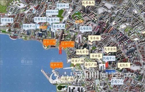 海逸天成,购物配套,青岛新闻网房产