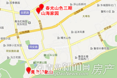 浮山风景区地图