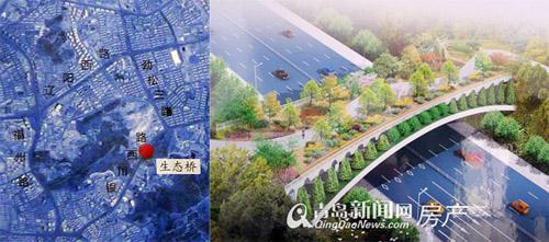 银川西路建生态廊道桥景观升级 ...