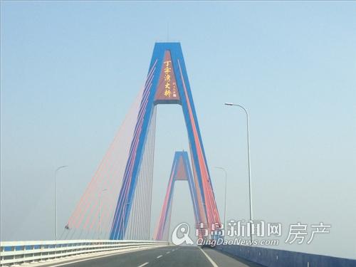 碧桂园十里金滩 烟台海阳 盛大奠基 从青岛前往海阳途径丁字湾大桥