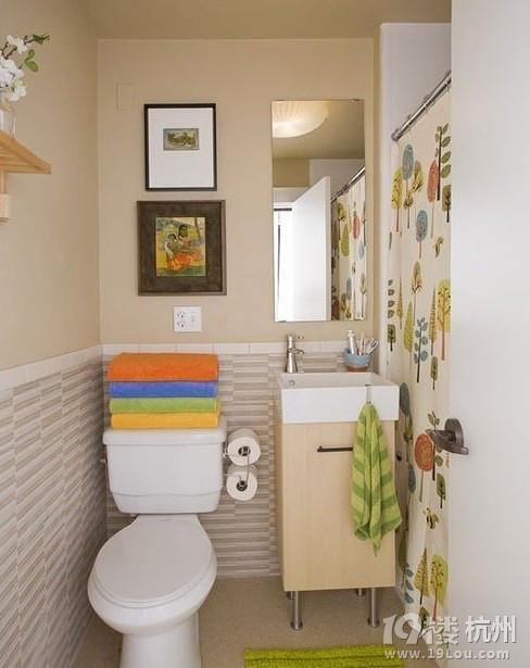 卫浴间设计,小户型装修,小户型卫浴间,青岛装修