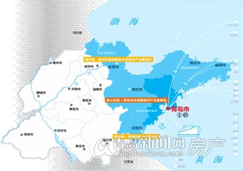 东部沿海重要的经济中心城市青岛