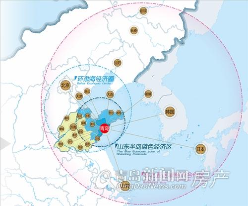 山东半岛蓝色经济区环渤海经济圈