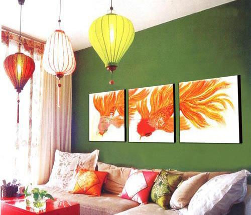墙面装饰,挂画方法,墙面设计,青岛装修