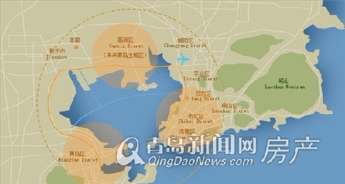 新城区三里河畔,步行十分钟就能到市政府,随着胶州新城规划的不断推进图片