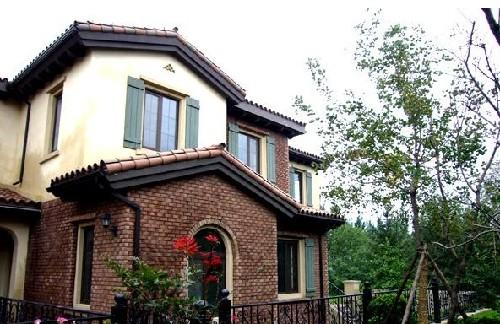 别墅房顶尖顶设计