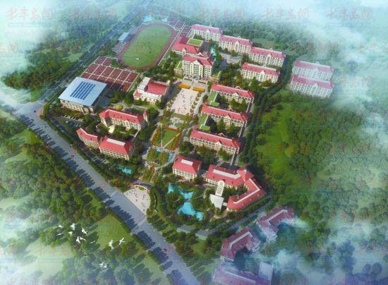 青岛39中新校区规划方案确定可纳4500人入学