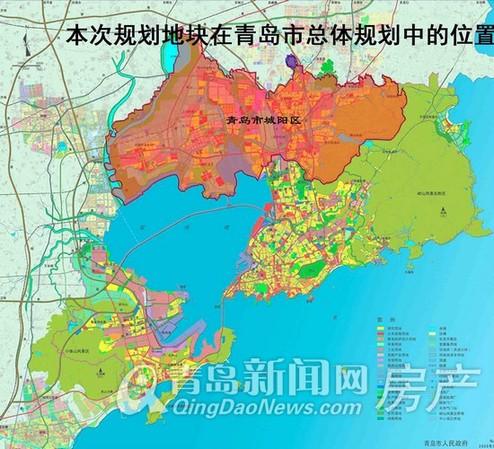城阳全域旅游手绘地图