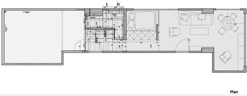 cad手绘房屋图