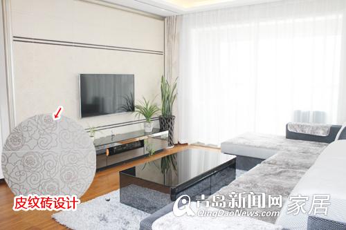 硅藻泥的电视背景墙多有单一
