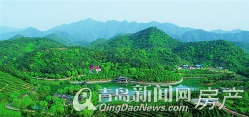 青岛印象湾邻虎山森林公园,青岛新闻网房产