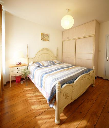 法式乡村风格,小户型装修,仿古家居,青岛装修案例,青岛业主装修图片