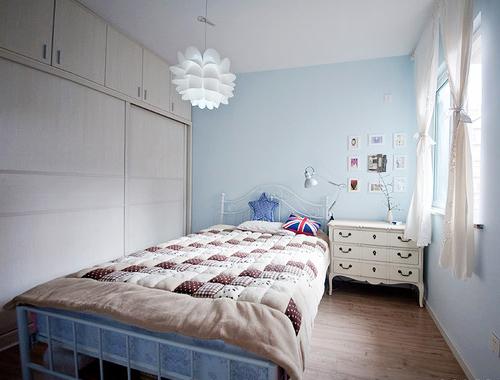 法式乡村风格,小户型装修,仿古家居,青岛装修案例,青岛业主装修