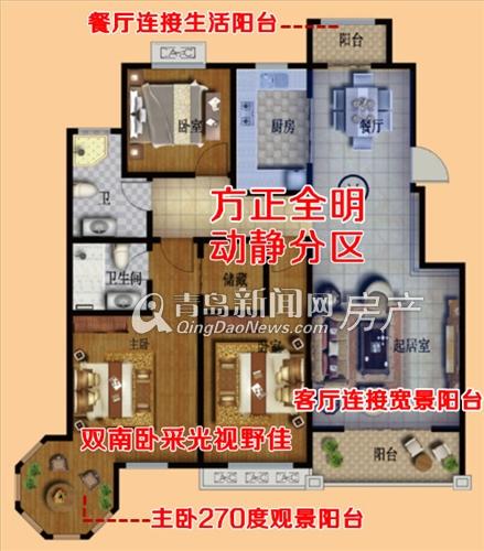 123骚穴网_中筑蓝湾铭都三室两厅123㎡m户型,青岛新闻网房产