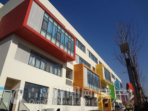 实地新建李沧区怀孕正在一批中小学校学校紧小学生探访想图片