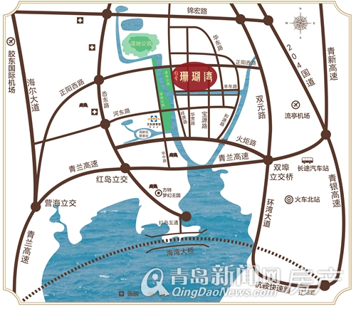r7,r8或已开工,或正在规划,开通之后红岛新区会完全融入大青岛生活圈