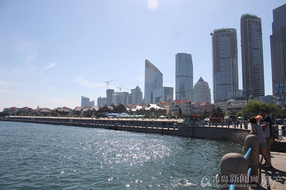 """高清大图:沿着海岸线探寻城市发展轨迹 青岛将变身为""""国际湾区城市"""""""