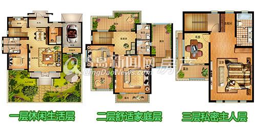 欧式独栋二层别墅设计详细图纸