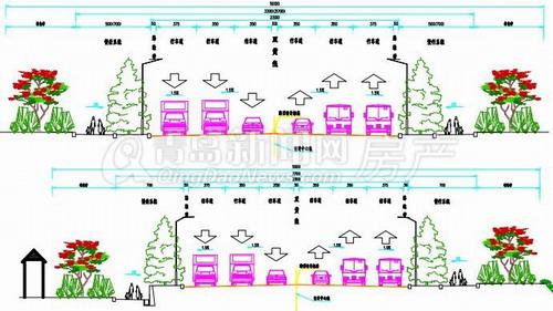 路基标准横断面图_主线初步设计路基标准横断面节点详图设计_下