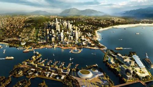青西新区,海域,规划