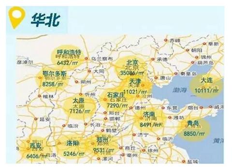 全国房价,地图