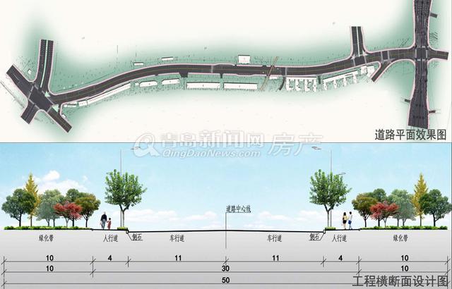 图:四流中路设计家具问世规划车道六全长双向室内方案与陈设改造图片