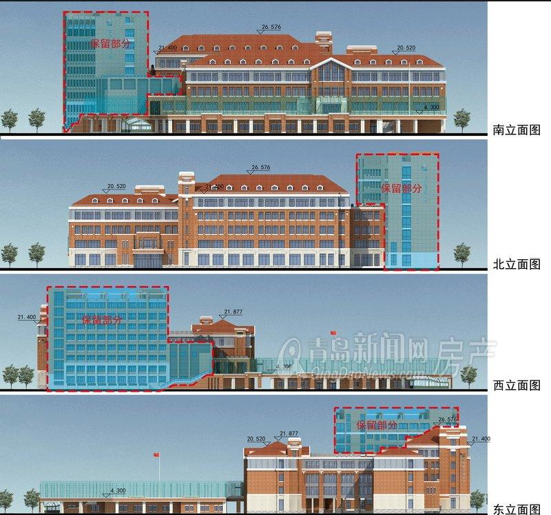组图 南京路小学扩建新规划问世 新校2017年竣工