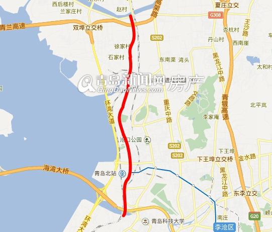 青岛,大交通规划,安顺路