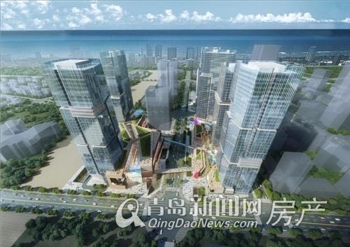 WFC协信中心,崂山,商业,公寓,青岛新闻网