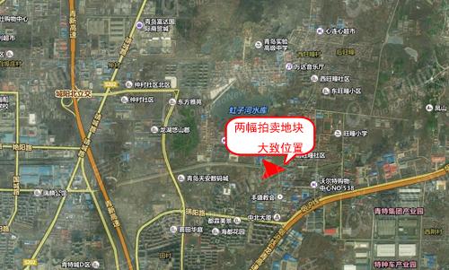 城阳区土地拍卖,春阳路地块,前旺瞳社区,青岛新闻网房产