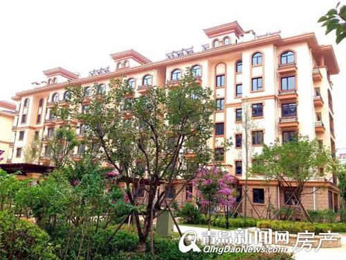 九水街道苏家社区启动回迁 欧式建筑风格环境优美