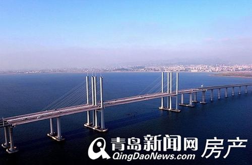 青岛海湾大桥胶州连接线工程已于2010年由