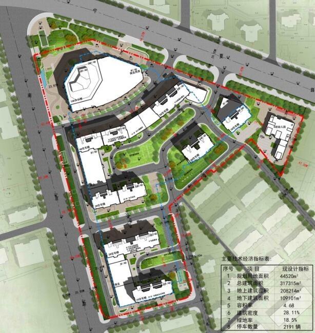 鲁商八大湖项目规划批前公示:90㎡以上户型占八成 全做安置房