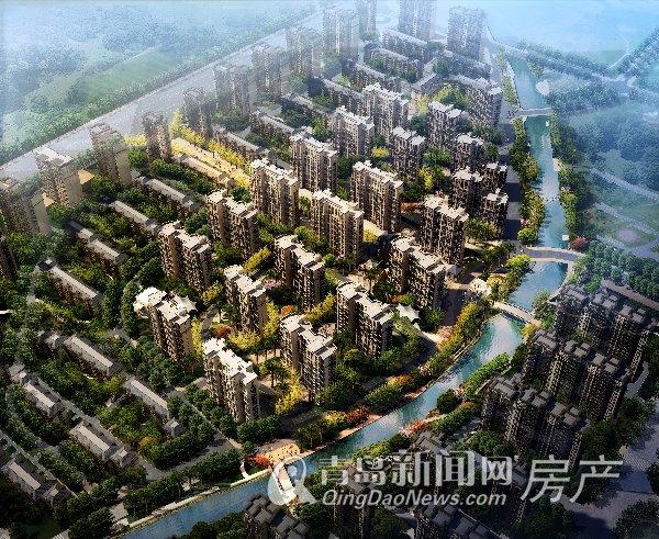 待售 普通住宅毛坯小高层  伟东·幸福之城位于青岛市李沧区东部虎山